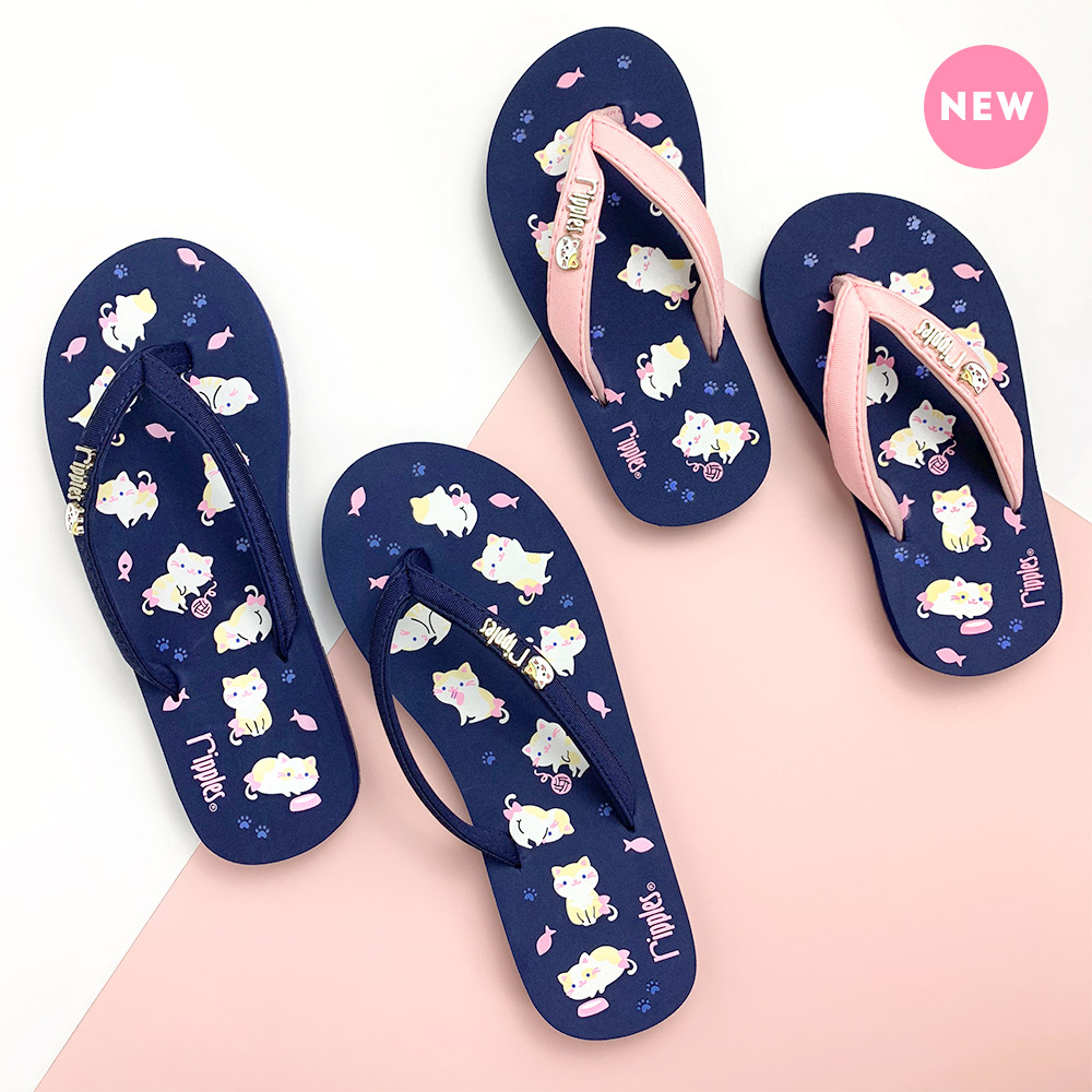 Kittens Ladies Flip Flops