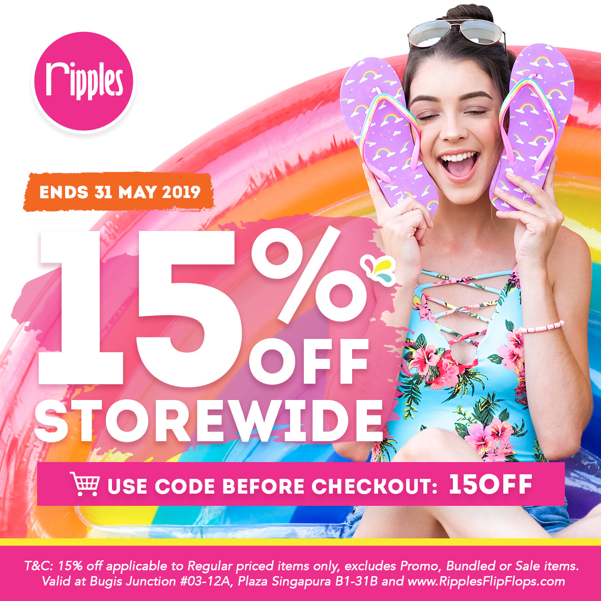 May 2019 Ripples Promotion