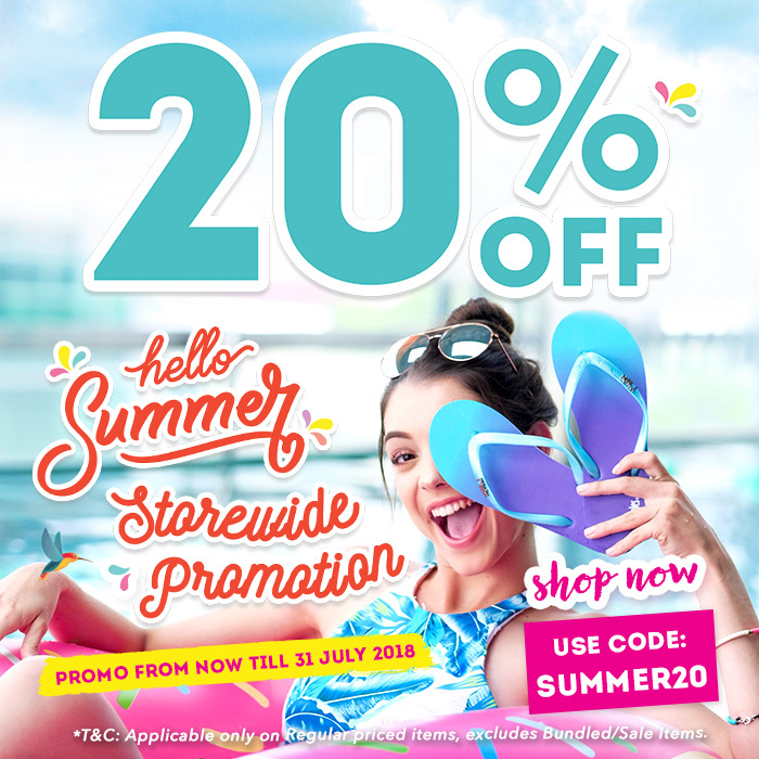 Ripples Summer 20% off Storewide Sale 2018
