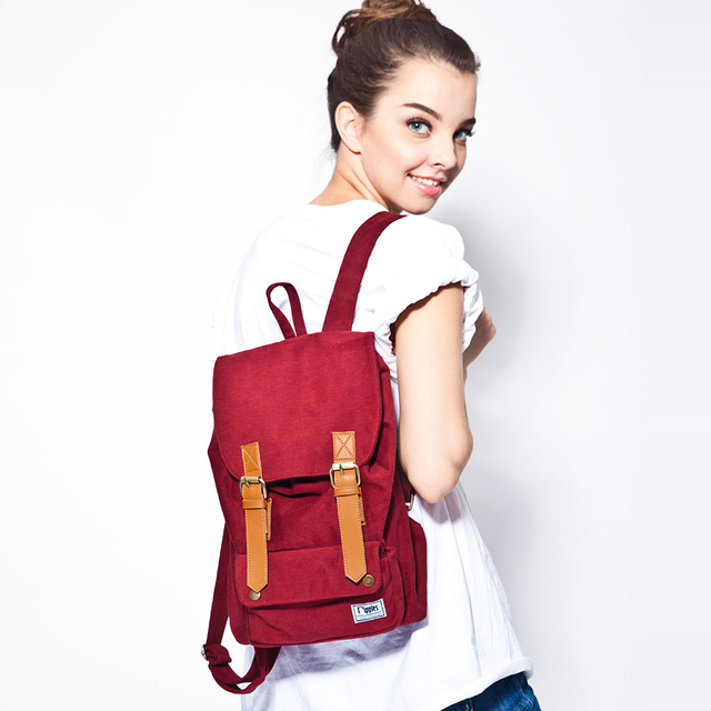 Hue Basic Ladies Backpack (Maroon)