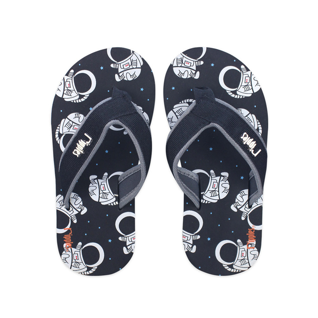 [SALE] Astronaut Little Kids Flip Flops