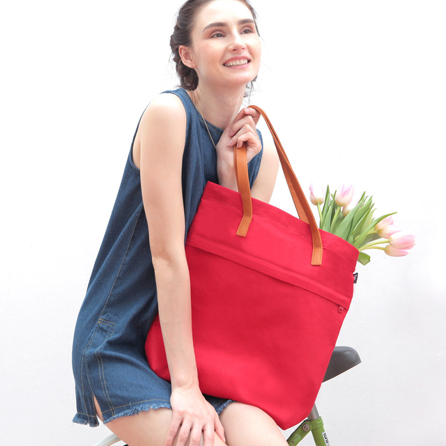 [PROMO] Trey Utility Tote Bag (Red)