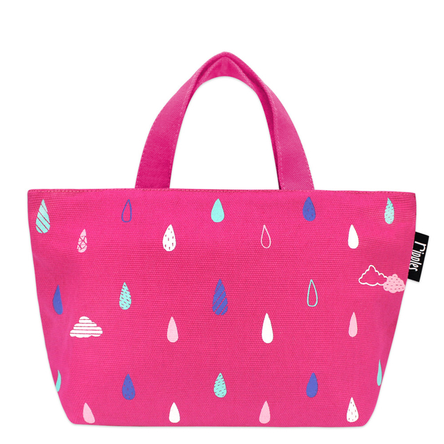 [PROMO] Raindrops Clouds littletotes (Pink)