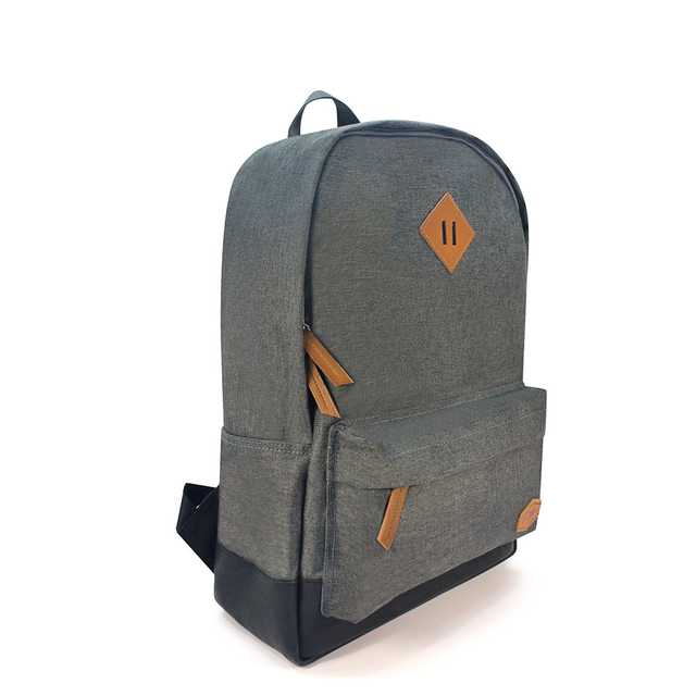 Asher Grey School Backpack