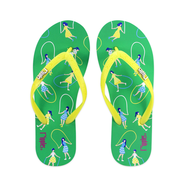 [SALE] Skipping Girls Ladies Flip Flops (Green)