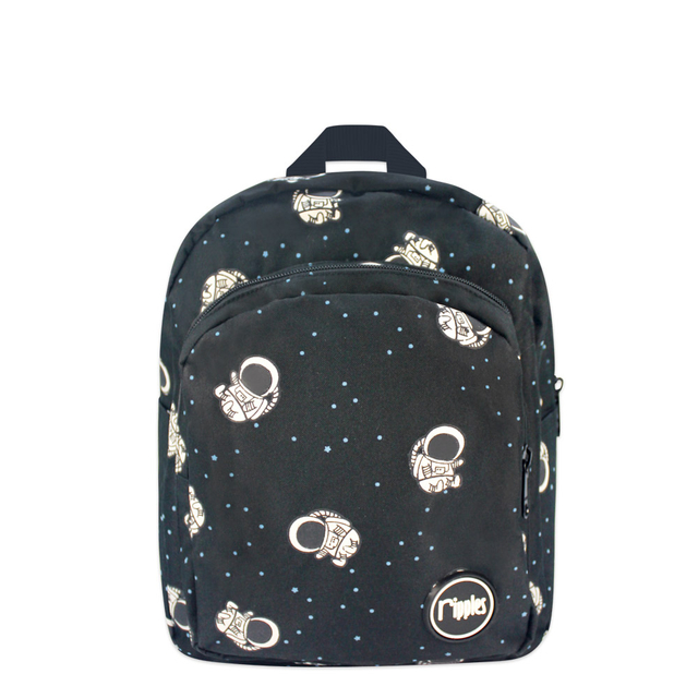 Astronauts Kids Backpack (Black)
