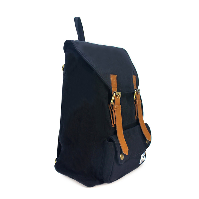 Hue Basic Ladies Backpack (Black)