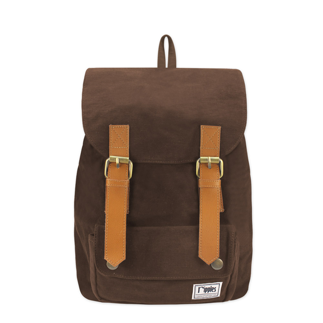 Hue Basic Ladies Backpack (Brown)