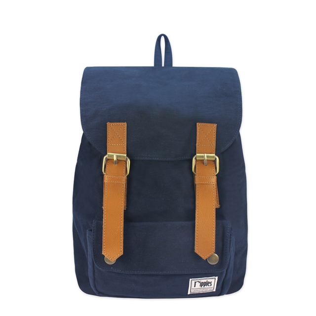Hue Basic Ladies Backpack (Navy Blue)