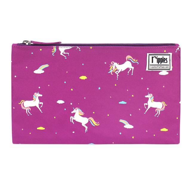 [PROMO] Unicorn Flat Pouch (Purple)