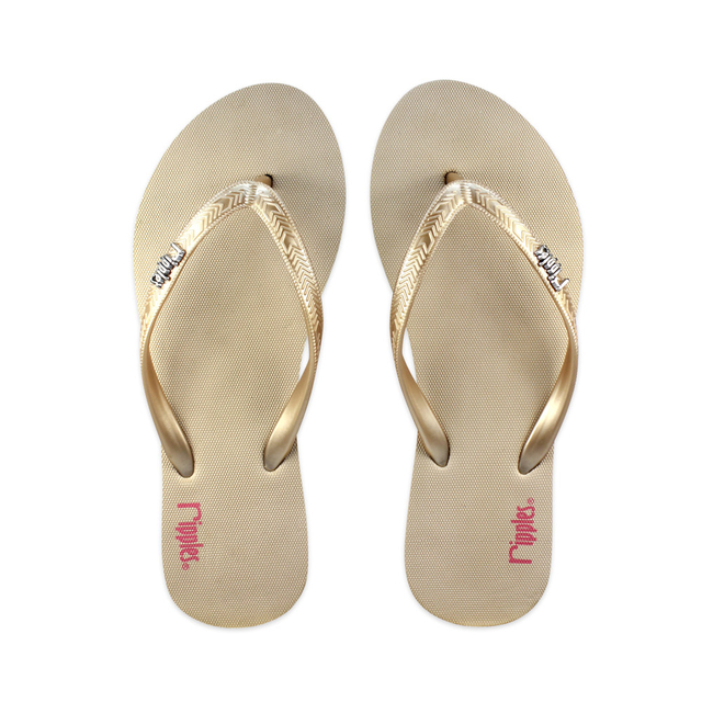 [SALE] Andre Basic Ladies Flip Flops (Beige)