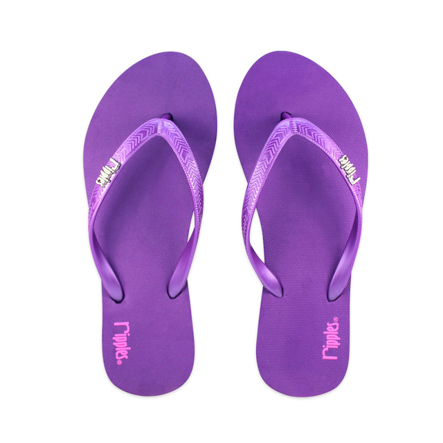 [SALE] Andre Basic Ladies Flip Flops (Dark Purple)