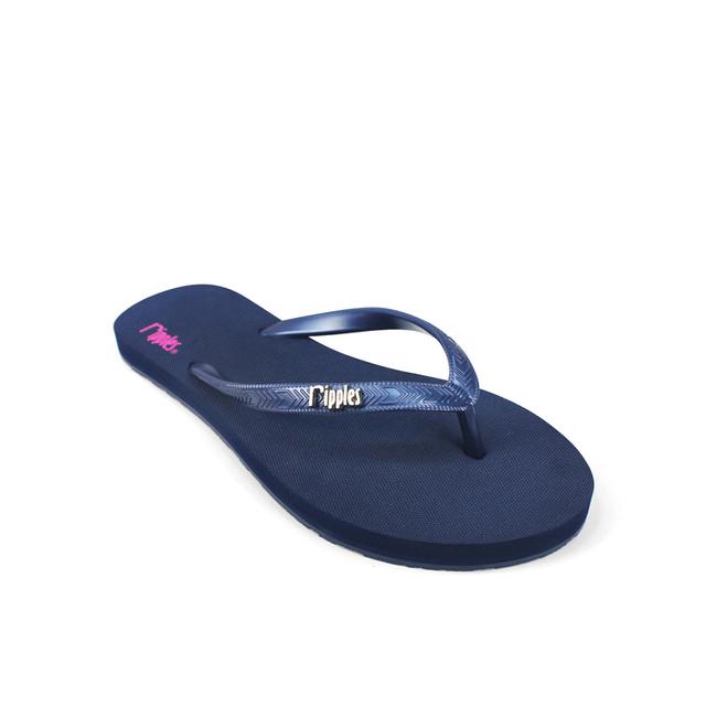 [SALE] Andre Basic Ladies Flip Flops (Navy Blue)