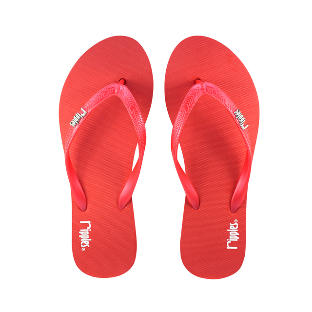 [SALE] Andre Basic Ladies Flip Flops (Red)