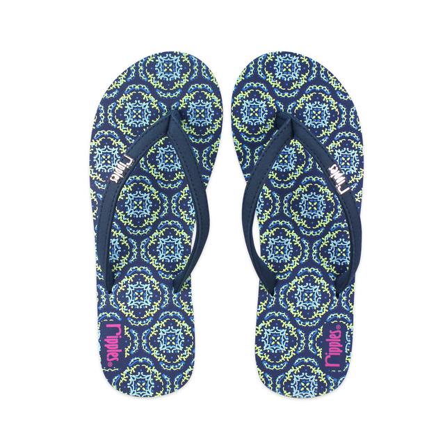 [SALE] Amaris Ladies Flip Flops (Blue Green)