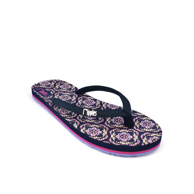[SALE] Amaris Ladies Flip Flops (Blue Pink)