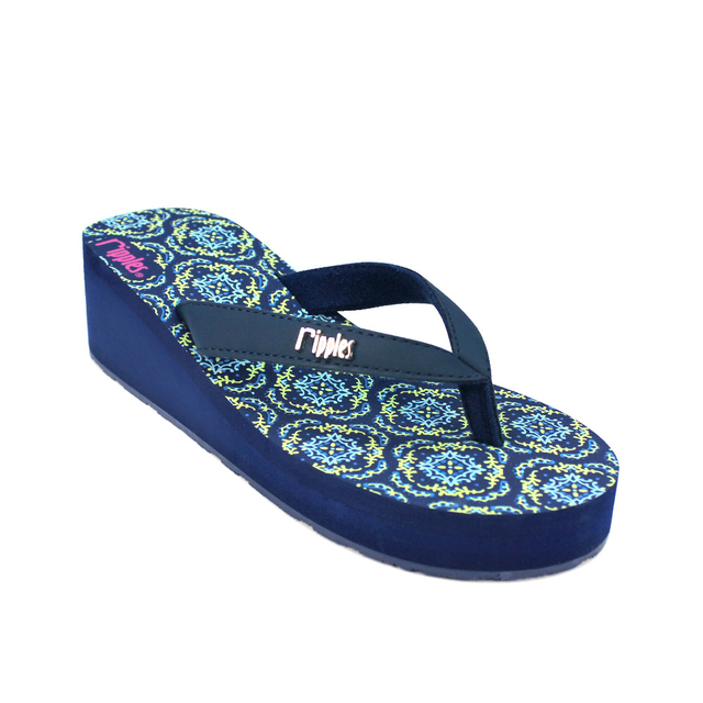 [PROMO] Amaris Ladies Wedges (Blue Green)