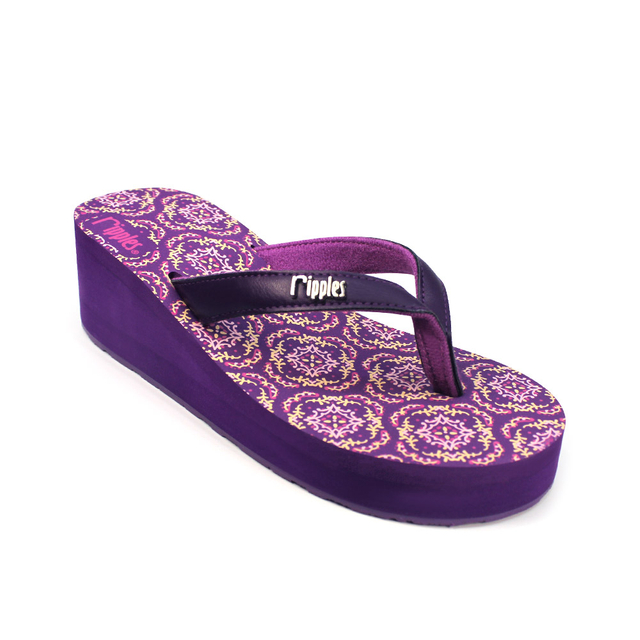 [PROMO] Amaris Ladies Wedges (Dark Purple)