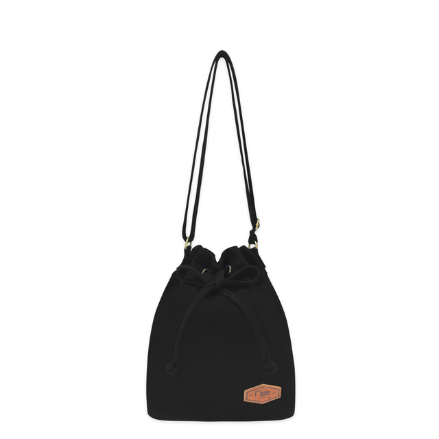 Chloe Basic Bucket Sling Bag (Black)