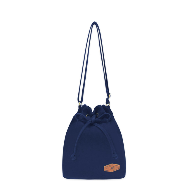 [PROMO] Chloe Basic Bucket Sling Bag (Navy Blue)