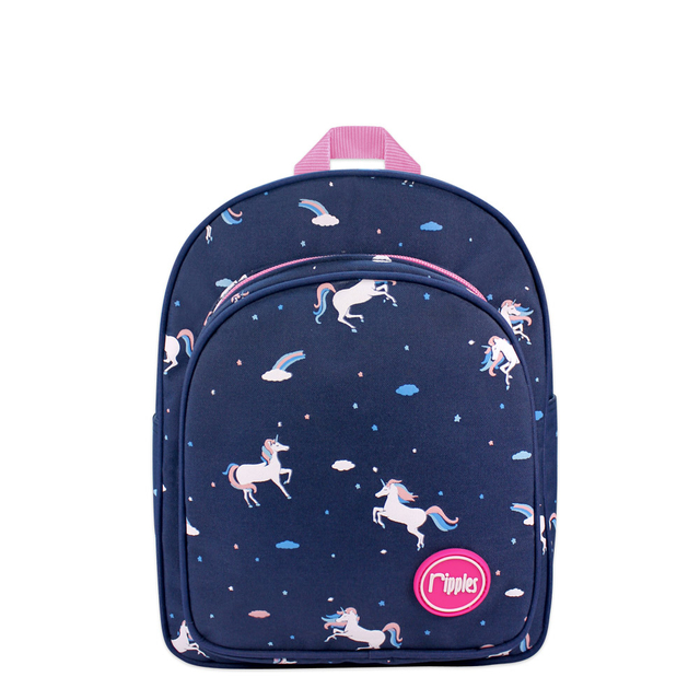 Unicorn Kids Backpack (Navy Blue)