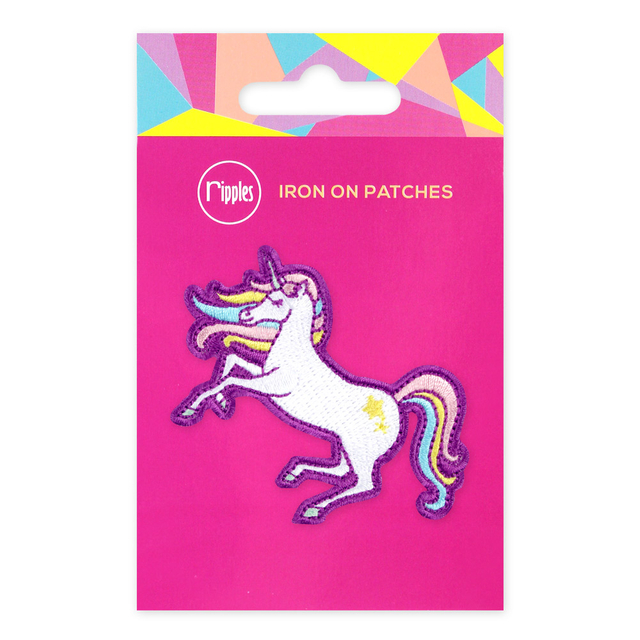 [PROMO] Unicorn Iron-On Patch