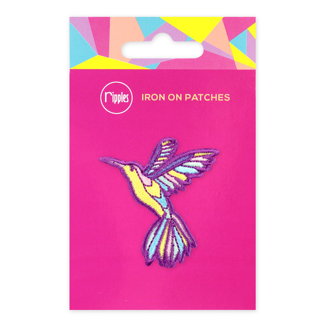 [PROMO] Hummingbird Iron-On Patch
