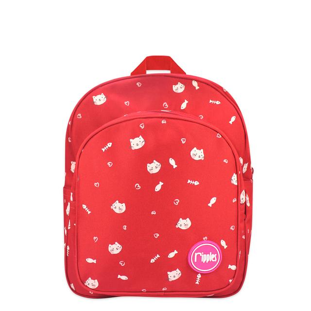 Kittens Kids Backpack (Red)