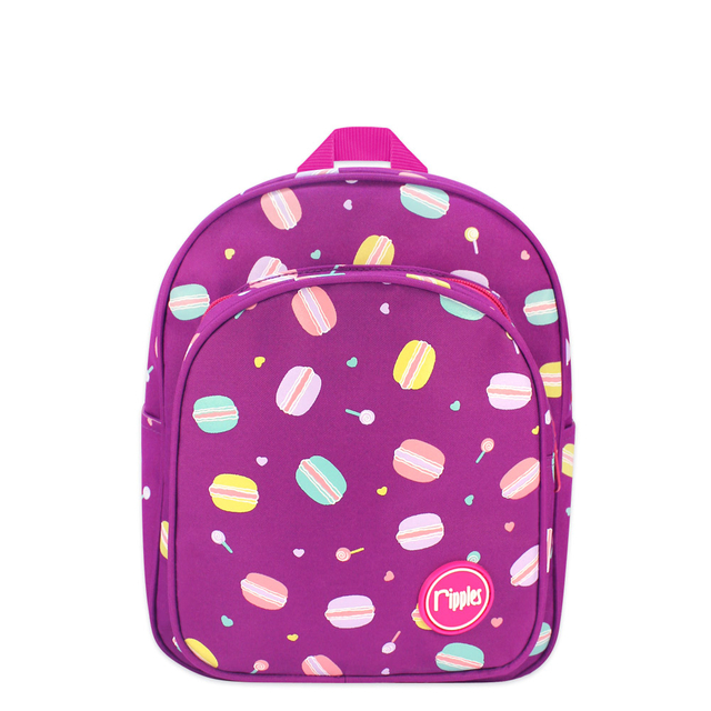 Macarons Kids Backpack (Purple)