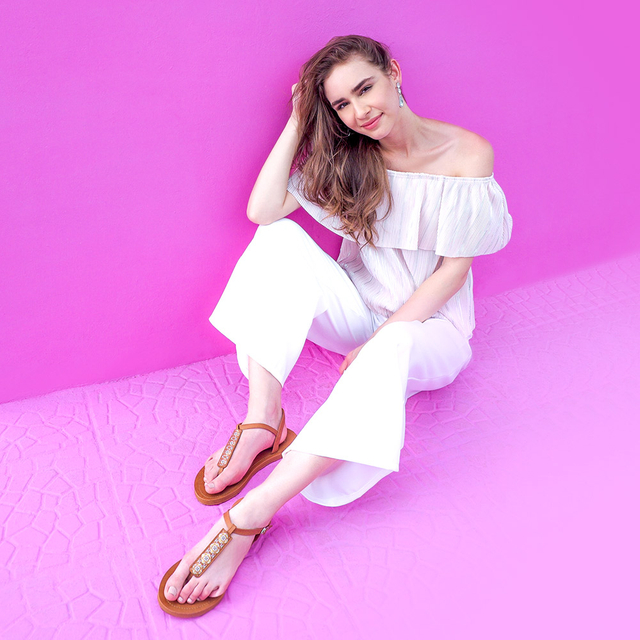 [PROMO] Amaris Slide'N'Style Sandal Sleeve Accessories (Blush Pink)