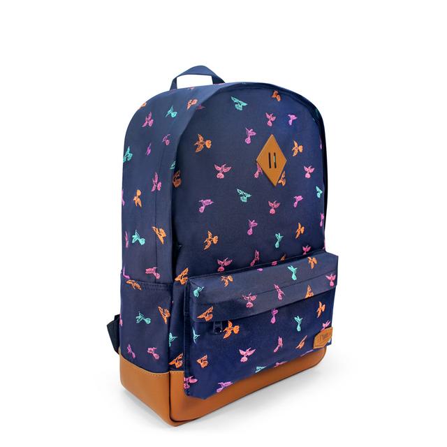 [SALE] Hummingbird School Backpack (Navy Blue)