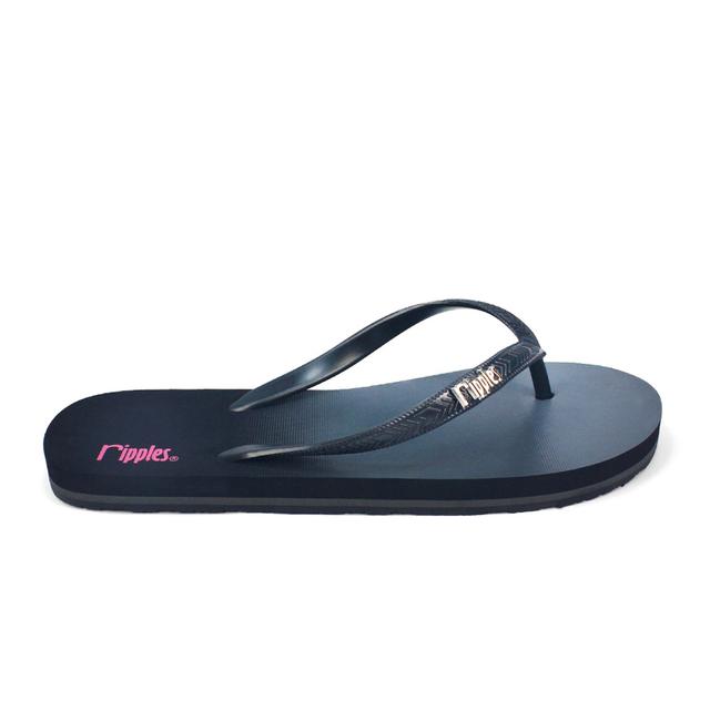 [SALE] Gradient Ladies Flip Flops (Black)