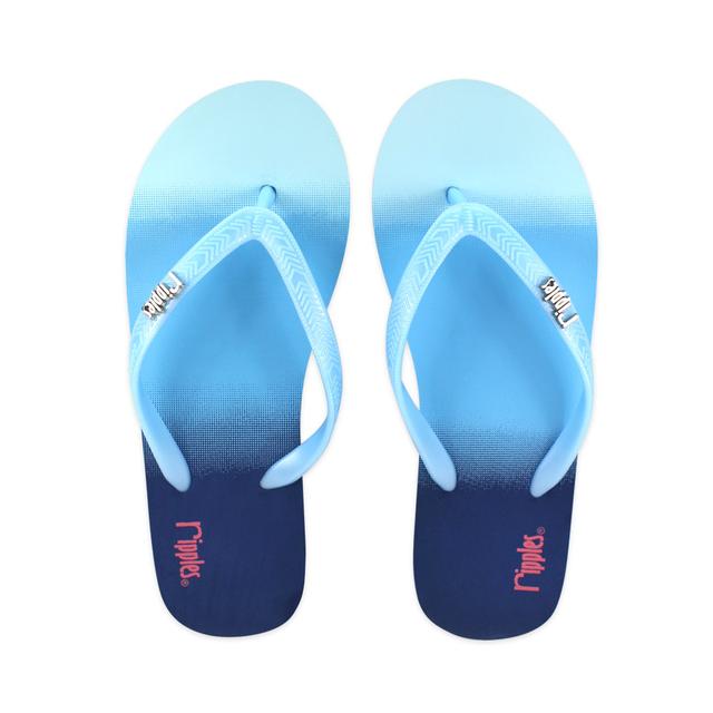 [SALE] Gradient Ladies Flip Flops (Blue)