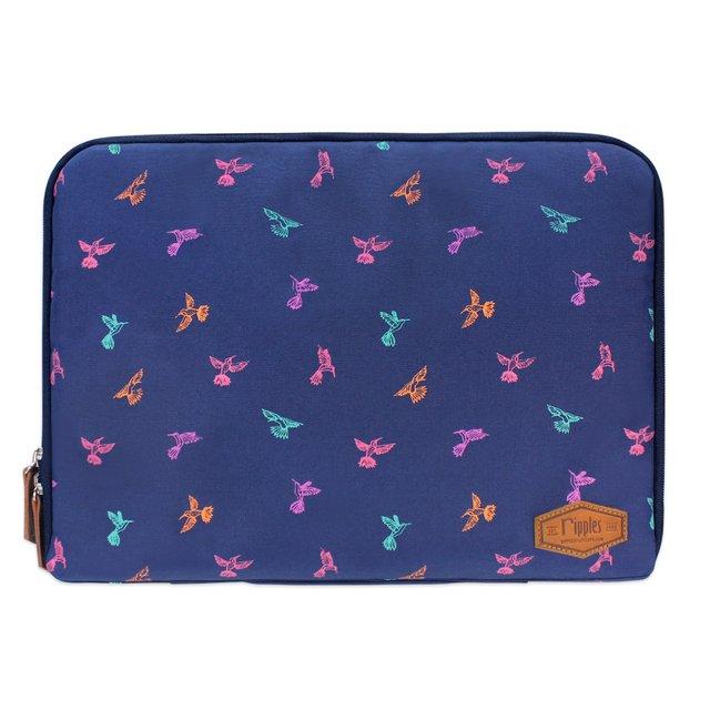 [PROMO] Hummingbirds Laptop Case (Navy Blue)