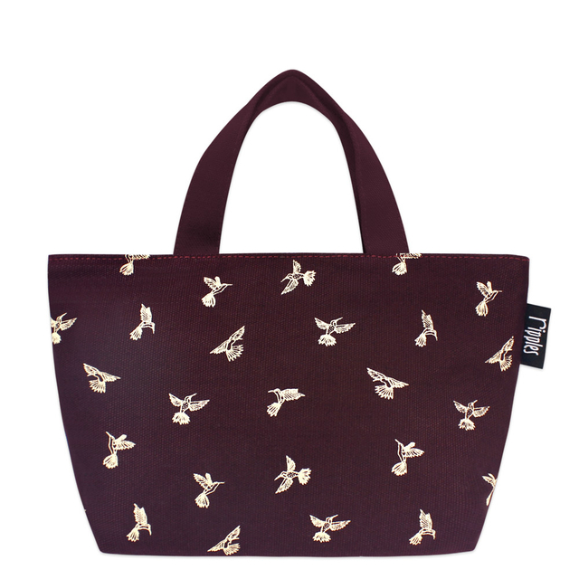 [PROMO] Hummingbirds littletotes (Maroon)