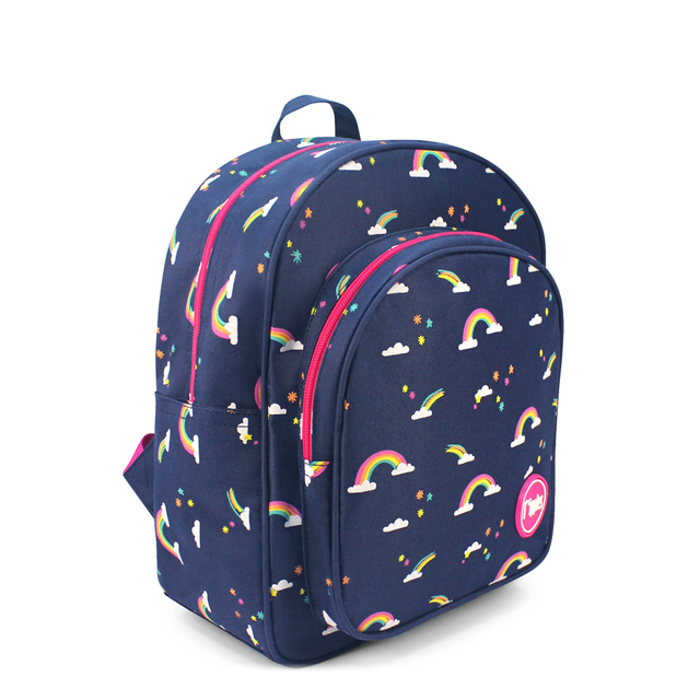 Rainbow Kids Backpack (Navy Blue)