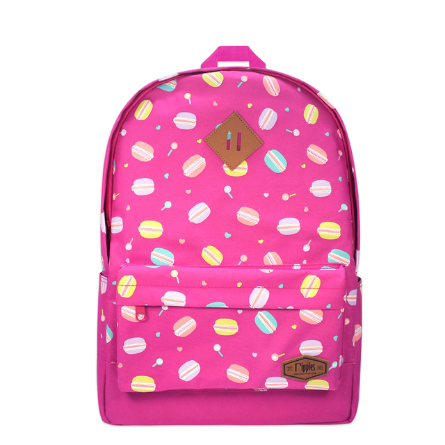 [SALE] Macaron School Backpack (Pink)
