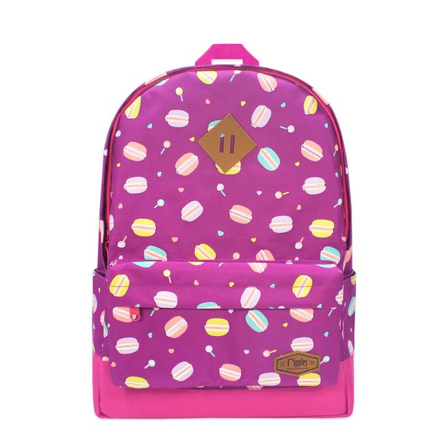 [SALE] Macaron School Backpack (Purple)