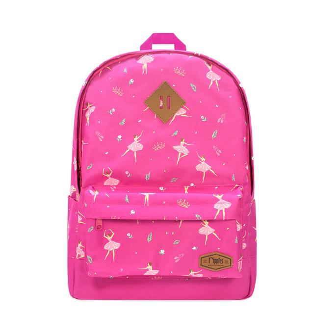 Ballerina School Backpack (Pink)