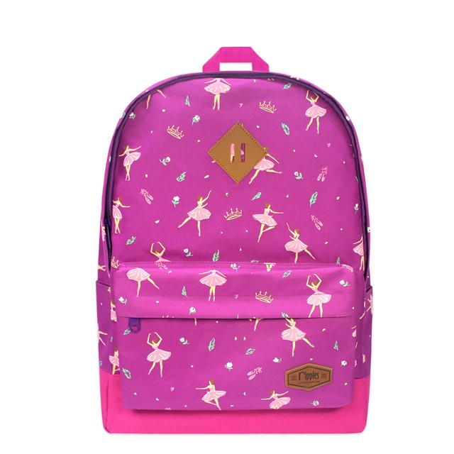 Ballerina School Backpack (Purple)