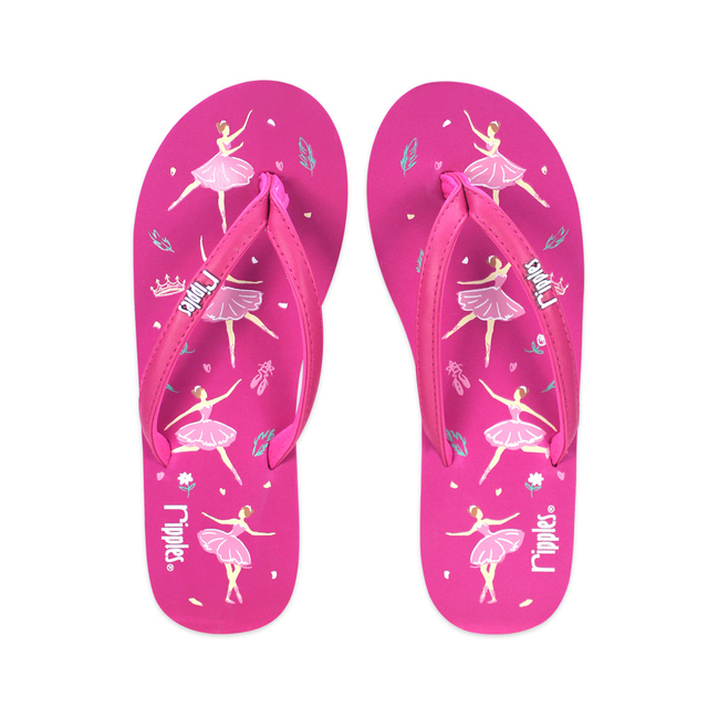 [SALE] Ballerina Ladies Flip Flops (Fuchsia Rose)