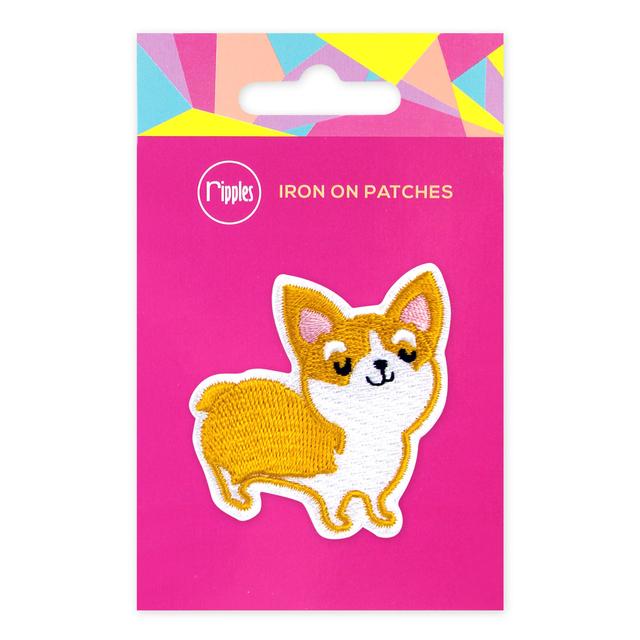 [PROMO] Corgi Dog Iron-On Patch