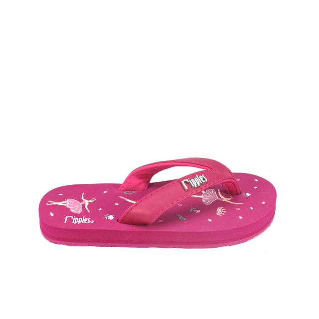 [SALE] Ballerina Little Kids Flip Flops (Fuchsia Rose)