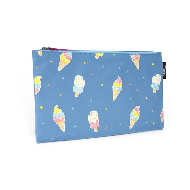 [PROMO] Ice Cream Flat Pouch (Mid Blue)