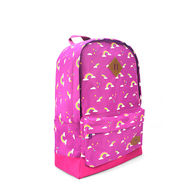 Rainbow School Backpack (Purple)