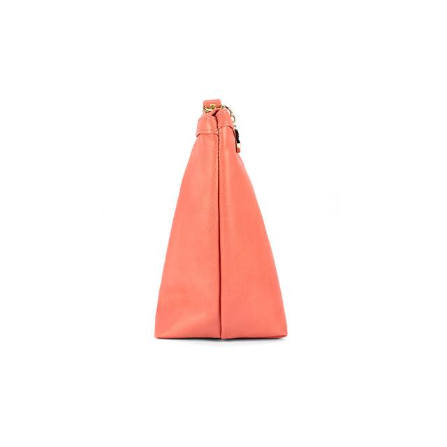 [PROMO] Corrine PU Leather Cosmetic Pouch (Peach)