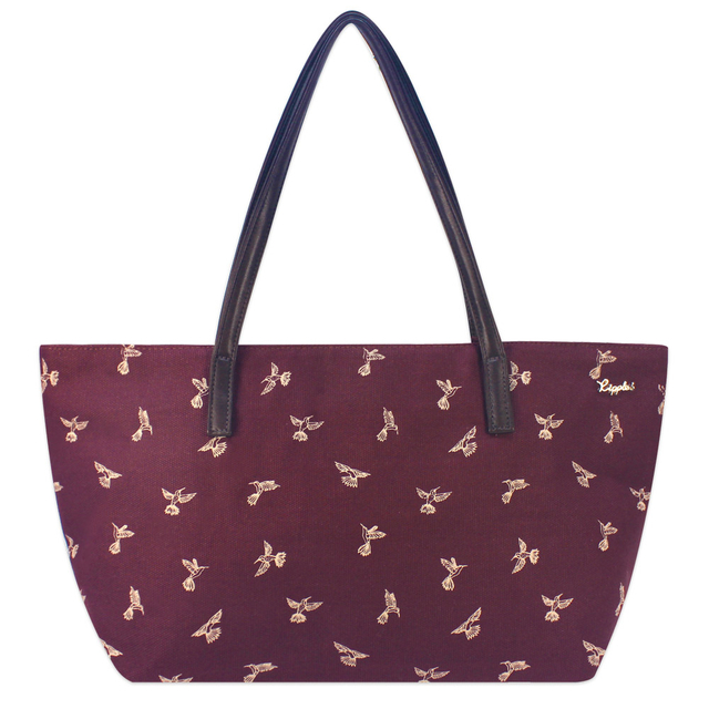 [PROMO] Hummingbirds Handbag (Maroon)