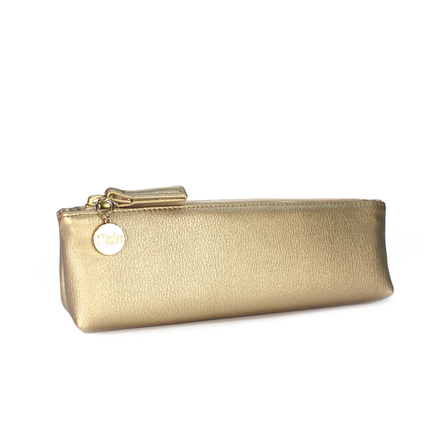[PROMO] Kaylyn Slim PU Leather Pouch (Gold)