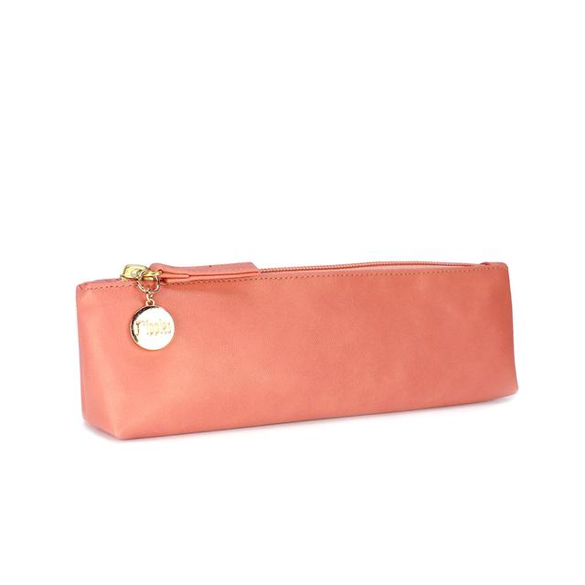 [PROMO] Kaylyn Slim PU Leather Pouch (Peach)
