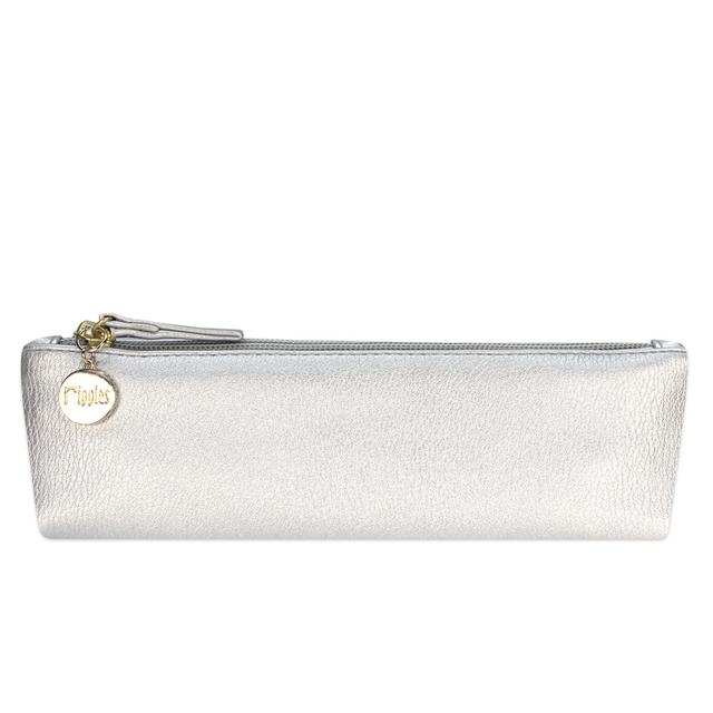 [PROMO] Kaylyn Slim PU Leather Pouch (Silver)